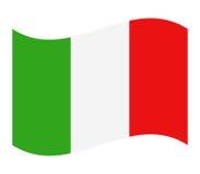 Włochy flaga ilustrująca Fotografia Royalty Free