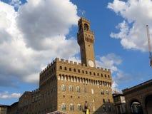 Włochy, Florencja, Palazzo Vecchio sławna przechowalnia zdjęcia stock