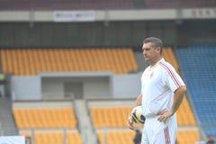 Włochy i AC Mediolańska legenda Daniele Massaro Zdjęcie Stock