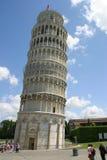 włochy krzywą wieżę w pizie zdjęcia Obraz Stock