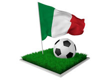 Włochy piłka nożna Zdjęcie Stock