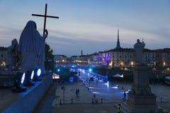 Włochy - Podgórski - Turyn: świątobliwa John uczta obrazy stock