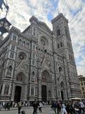 Włochy podróży piazza duomo Włochy Florencja architektury budynku muzeum obrazy stock