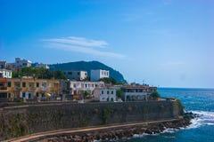 Włochy podróży serie - Ischia linia brzegowa Zdjęcia Royalty Free