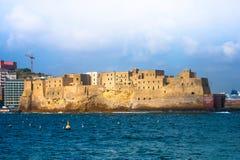 Włochy podróży serie - Stary forteca w Naples Obrazy Royalty Free
