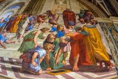 Włochy, Rome, Vatican muzea obrazy royalty free
