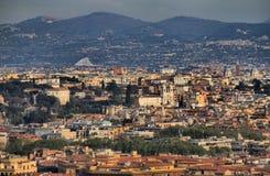 włochy Rzymu panoramiczny widok zdjęcie stock