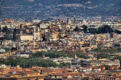 włochy Rzymu panoramiczny widok zdjęcia royalty free