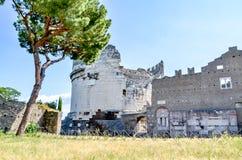 włochy Rzymu Przez Appia zdjęcie stock