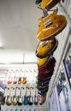 włochy Rzymu Wrzesień 20th 2016 Gitary elektryczne wiesza w s Obraz Royalty Free