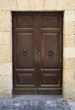 Włochy. Stary drzwi Zdjęcia Stock