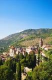 włochy Toscana tradycyjnego krajobrazu fotografia royalty free