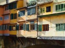 Włochy, Tuscany, Florencja boże narodzenie czas w centrum miasta Obraz Royalty Free