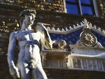 Włochy, Tuscany, Florencja, kopia David Michelangelo zdjęcie royalty free