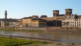 Włochy Tuscany Krajowa Środkowa biblioteka Florencja zdjęcie wideo