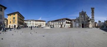Włochy, Tuscany, Prato miasto fotografia stock