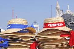 Włochy Wenecja Karnawału kapelusz i maska Fotografia Royalty Free