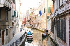 Włochy, Wenecja, podróż Obrazy Royalty Free