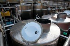 Włochy: winemaking (franciacorta) Obrazy Stock