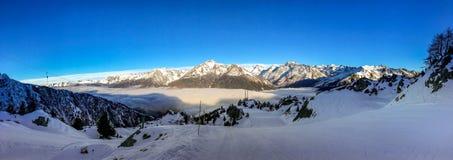 Włoscy Alps obraz royalty free