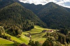 Włoscy dolomity fotografia royalty free