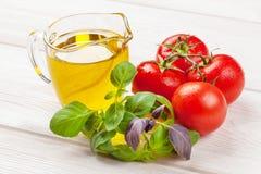 Włoscy karmowi kulinarni składniki Obraz Stock