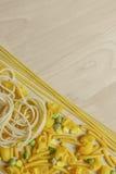 Włoscy makaronów kształty Zdjęcia Stock