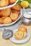 Włoscy Pinwheel pomarańcze ciasta obrazy stock