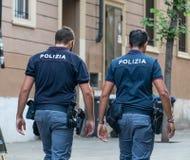 Włoscy policjanci obrazy stock