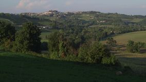 Włoscy wzgórza zbiory