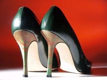 włoscy zmysłowi buty Obraz Stock