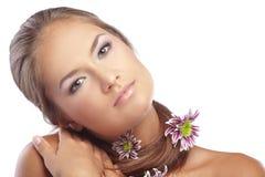 włosiana zdrowa skóra Obraz Royalty Free