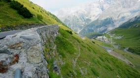 Włoska Alps Stelvio przepustka Włochy, Europa zdjęcie wideo