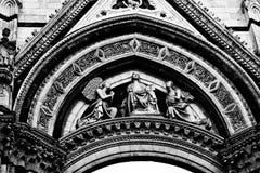 Włoska architektura w szczegółach obraz royalty free