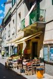 Włoska badylarka w małej wiosce Obrazy Royalty Free