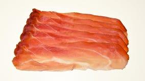Włoska drobina, uwędzony smakowity baleron Obrazy Stock