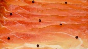 Włoska drobina, uwędzony smakowity baleron Zdjęcia Stock