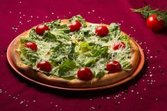 Włoska jedzenie pizza zdjęcie royalty free