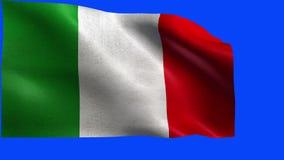 Włoska republika, flaga Włochy, włoszczyzny flaga - pętla royalty ilustracja