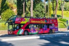 Włoska wycieczka autobusowa Zdjęcia Stock