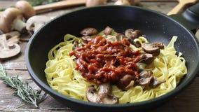 Włoski świeży makaron zbiory