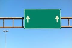 Włoski autostrada znak Zdjęcia Stock