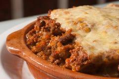 Włoski bolończyka Lasagna Obrazy Royalty Free