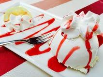 Włoski cytryna tort Obrazy Royalty Free