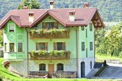 Włoski dolomitu region Zdjęcie Royalty Free
