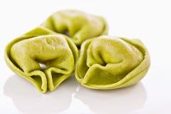 włoski makaron faszerujący tortellini Fotografia Stock