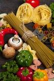 włoski makaron zdrowy pojęcia jedzenie obrazy royalty free