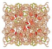Włoski makaronu jedzenia tło Obrazy Stock