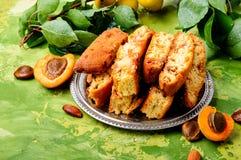 Włoski migdałowy biscotti Obraz Stock