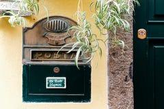 Włoski poczta pudełko Zdjęcia Stock